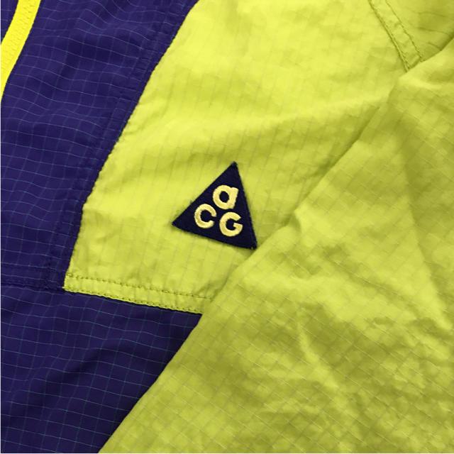 NIKE(ナイキ)のNIKE ACG 名山シリーズ ナイロンシェル Mサイズ ビンテージ 富士山 メンズのジャケット/アウター(ナイロンジャケット)の商品写真