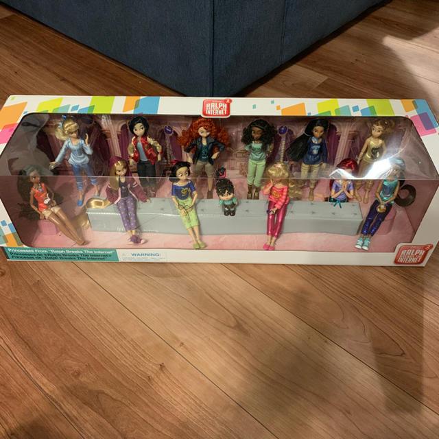Disney(ディズニー)のバラ売可! シュガー・ラッシュ:オンライン ♡ ドール セット エンタメ/ホビーのおもちゃ/ぬいぐるみ(キャラクターグッズ)の商品写真