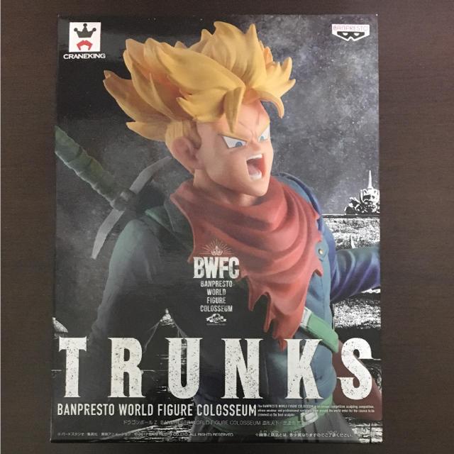トランクス フィギュア エンタメ/ホビーのおもちゃ/ぬいぐるみ(キャラクターグッズ)の商品写真
