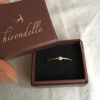 アッシュペーフランス(H.P.FRANCE)のイロンデール k18 ダイヤ リング(リング(指輪))