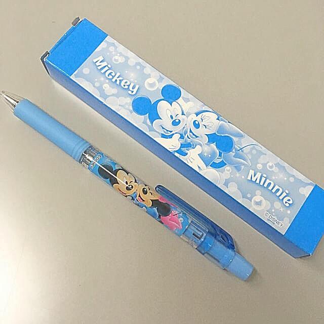 Disney(ディズニー)のミッキー&ミニー ボールペン エンタメ/ホビーのおもちゃ/ぬいぐるみ(キャラクターグッズ)の商品写真