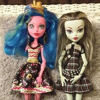 バービー(Barbie)のお値下げ!モンスターハイ 珍しいビッグサイズ 45cm(ぬいぐるみ)