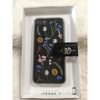ゼログラビディー iphone 7/8用刺繍ケース