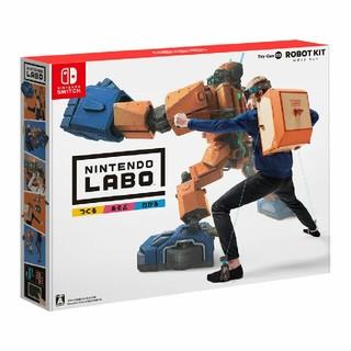 ニンテンドースイッチ(Nintendo Switch)のNintendo Labo Toy-Con 02: Robot Kit 新品(家庭用ゲームソフト)