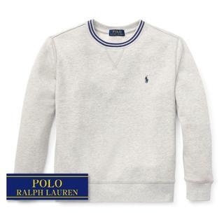 ラルフローレン(Ralph Lauren)の☆新品☆ 170 ラルフローレン スウェットシャツ ライトグレー 4617(Tシャツ/カットソー)