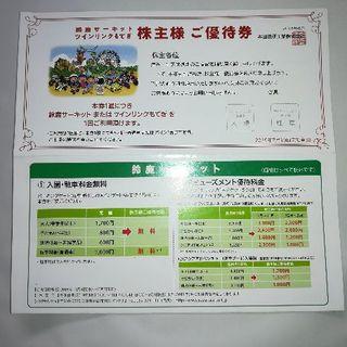 鈴鹿サーキットツインリンクもてぎの株主優待券(モータースポーツ)