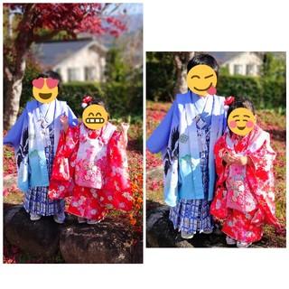 あこま様専用!!七五三 女の子 フルセット☆(和服/着物)