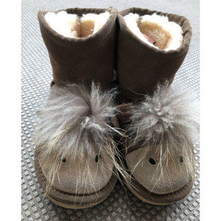 アグ(UGG)のugg  アグ  子供  18.5-19cm 動物可愛い ムートンブーツ(ブーツ)