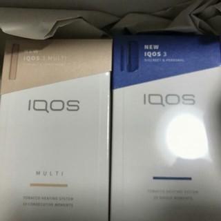 新品未開封 IQOS3+IQOS3 MULTI セット ブリリアントゴールド(その他 )