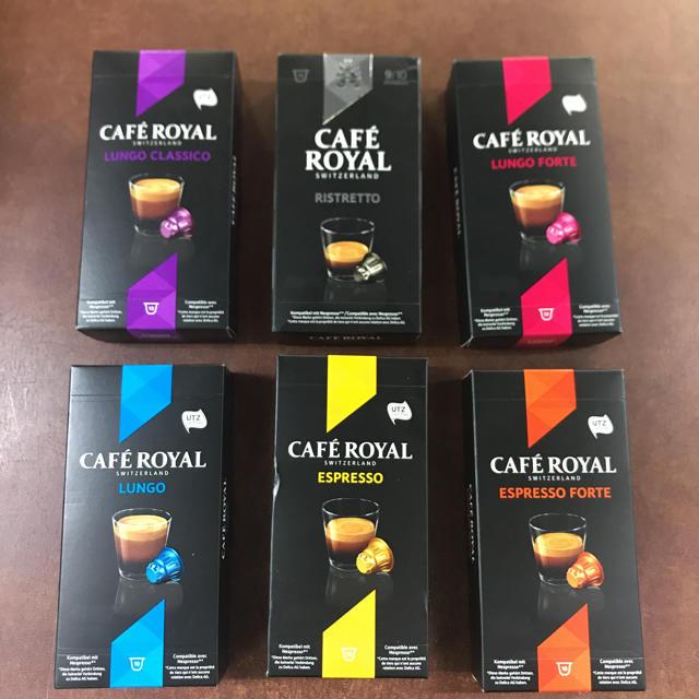 yummy様  CAFE ROYAL カプセル 25箱セット 食品/飲料/酒の飲料(コーヒー)の商品写真