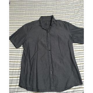 カルバンクライン(Calvin Klein)の半袖 シャツ カルバンクライン CK グレー L メンズ(シャツ)