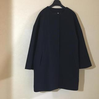ムジルシリョウヒン(MUJI (無印良品))の無印良品 コクーンコート(ノーカラージャケット)