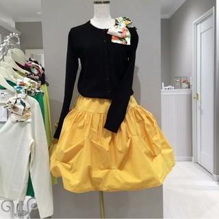 カプリシャスミー(Capricious Mie.)の美品 カプリシャスミー  大人気 つまみスカート(ひざ丈スカート)