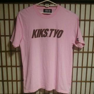 キックスティーワイオー(KIKS TYO)のKIKSTYO ロゴプリント 半袖Tシャツ Lサイズ ストリート スニーカー 服(Tシャツ/カットソー(半袖/袖なし))