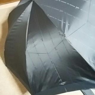 トラサルディ(Trussardi)の新品未使用メンズTRUSSARDI折りたたみカサ チャコールグレーケース付(傘)