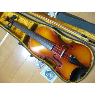 高級 国産バイオリン SUZUKI No.200 4/4 新品付属品セット