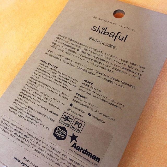 Shibaful × ひつじのショーン iPhone6/6s スマホケース  スマホ/家電/カメラのスマホアクセサリー(iPhoneケース)の商品写真