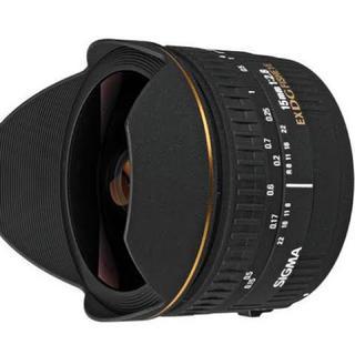 シグマ(SIGMA)の【美品につき】シグマ 15mm f2.8 DG FISHEYE ニコンFマウント(レンズ(単焦点))
