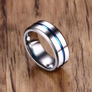 ファッションリング チタンシルバー 米国サイズ 12号(リング(指輪))