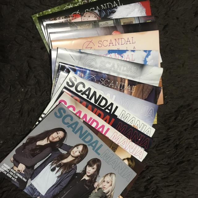 SCANDAL 会報誌 エンタメ/ホビーのタレントグッズ(ミュージシャン)の商品写真