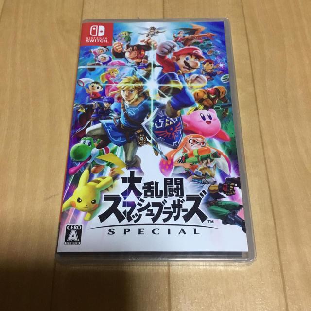 Nintendo Switch(ニンテンドースイッチ)の大乱闘スマッシュブラザーズ SPECIAL   新品未開封    スマブラ エンタメ/ホビーのテレビゲーム(家庭用ゲームソフト)の商品写真