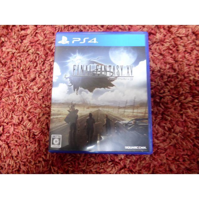 PS4 ファイナルファンタジー15 FINALFANTASY XV  エンタメ/ホビーのテレビゲーム(家庭用ゲームソフト)の商品写真