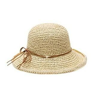 ストローハット レディース 折りたたみ 帽子 紫外線対策(麦わら帽子/ストローハット)
