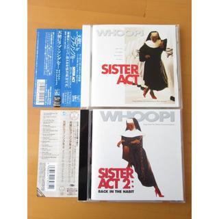 天使にラブソングを… 1と2 2枚セット サウンドトラック 【帯付国内盤CD】送(映画音楽)