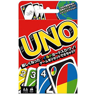 【新品•未開封】UNO ウノ カードゲーム (日本人考案の新しい特殊カード)(トランプ/UNO)