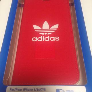 アディダス(adidas)のiPhoneカバー  アディダス  手帳型(iPhoneケース)
