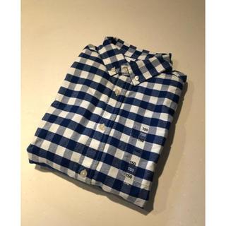 MUJI (無印良品) - 新品 MUJI フランネルチェックシャツ   長袖 150