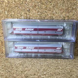 マイクロエース Nゲージ コキ71 UM20A カーラックコンテナ車 2両セット(鉄道模型)