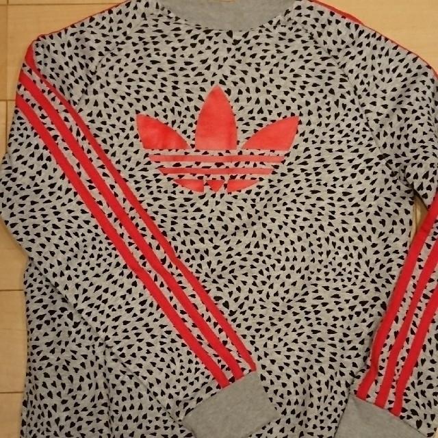 adidas(アディダス)のadidas  アディダス  ジッパートレーナー  キッズ140cm キッズ/ベビー/マタニティのキッズ服 女の子用(90cm~)(ジャケット/上着)の商品写真