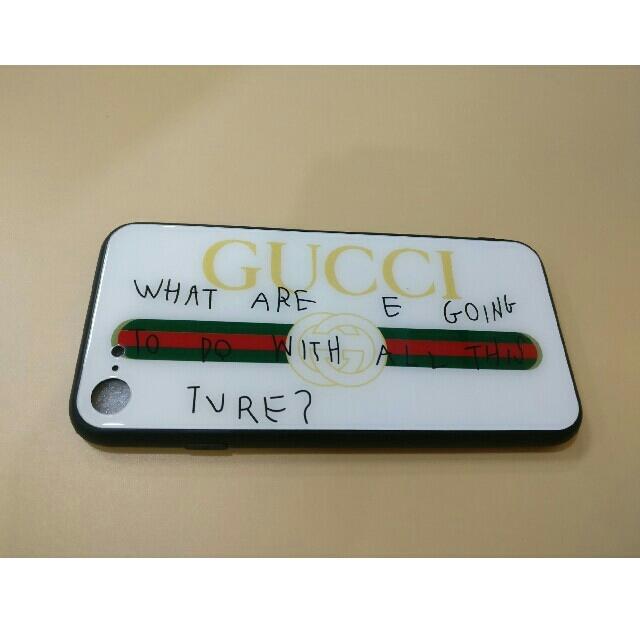 Gucci - iPhone7/8対応ケース グッチケース 英語の通販 by p@ichi's shop|グッチならラクマ
