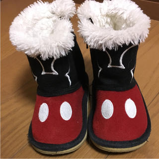 ディズニー(Disney)のミッキー ブーツ 14センチ(ブーツ)