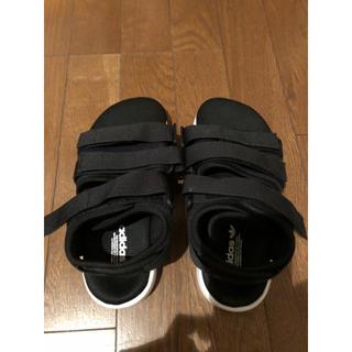 アディダス(adidas)のアディレッタ 23.5cm(サンダル)