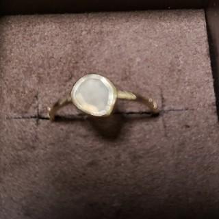 アガット(agete)のアガット 廃盤 スキニーストーンリング 7号(リング(指輪))