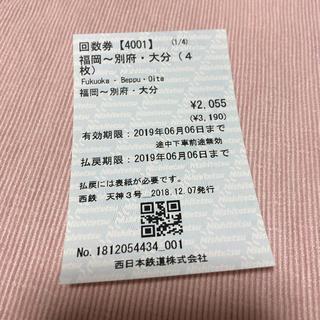 福岡 大分 別府 高速バス片道券(その他)