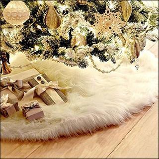 ♡ふわふわ♡ 78cmクリスマスツリースカート ツリーの装飾(その他)