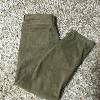ムジルシリョウヒン(MUJI (無印良品))の無印良品   コーデュロイのパンツ   26インチ   美品(カジュアルパンツ)