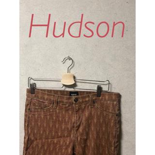 【U.S古着】 柄パンツ スキニー HUDSON 80年代