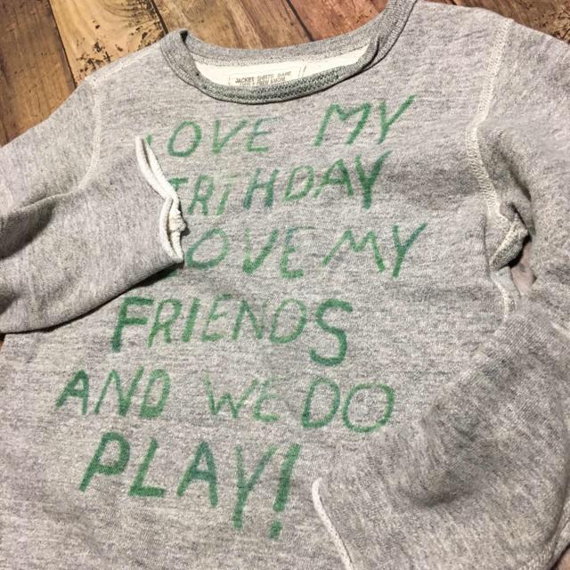 GO TO HOLLYWOOD(ゴートゥーハリウッド)のGO TO HOLLYWOOD ゴートゥーハリウッド スウェット 130 キッズ/ベビー/マタニティのキッズ服女の子用(90cm~)(Tシャツ/カットソー)の商品写真