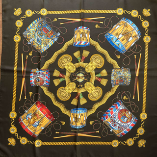 エルメス(Hermes)のエルメス カレ /タンブールの太鼓(スカーフ)