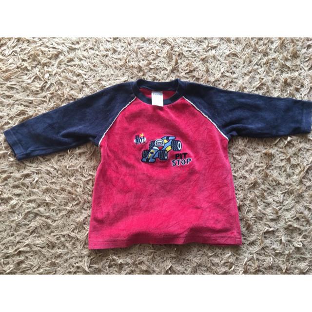 男児 トップス キッズ/ベビー/マタニティのベビー服(~85cm)(トレーナー)の商品写真