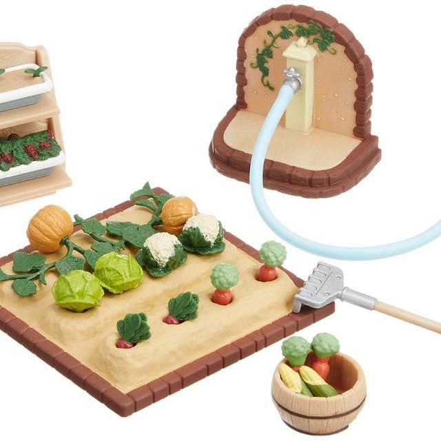 シルバニアファミリー 家具 やさいづくりセット カ-616 キッズ/ベビー/マタニティのおもちゃ(ぬいぐるみ/人形)の商品写真