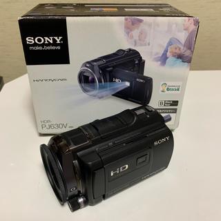 ソニー(SONY)の☆Sony Handycam HDR-PJ630V ブラック☆(ビデオカメラ)