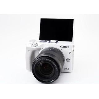 キヤノン(Canon)の予備バッテリー付き WiFi機能搭載&自撮り  Canon EOS M3(デジタル一眼)