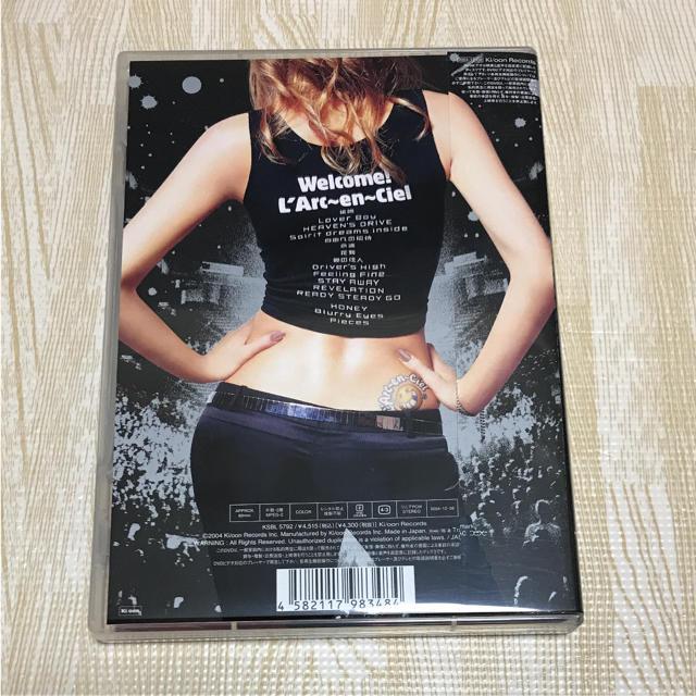 L'Arc~en~Ciel(ラルクアンシエル)のL'Arc~en~Ciel/LIVE IN U.S.A.~at 1st Mar… エンタメ/ホビーのDVD/ブルーレイ(ミュージック)の商品写真