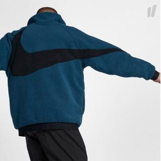 ナイキ(NIKE)のM Blue Nike Swoosh Full Zip Jacket ブルー(その他)