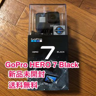 ゴープロ(GoPro)の新品未開封 GoPro HERO 7 ブラック(一年保証付き)(ビデオカメラ)